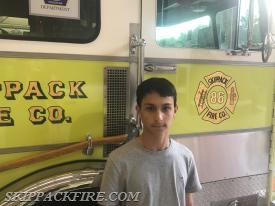 Jr. Firefighter Goldberg
